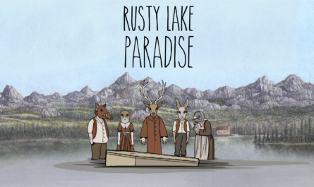 Rusty lake paradise official logo