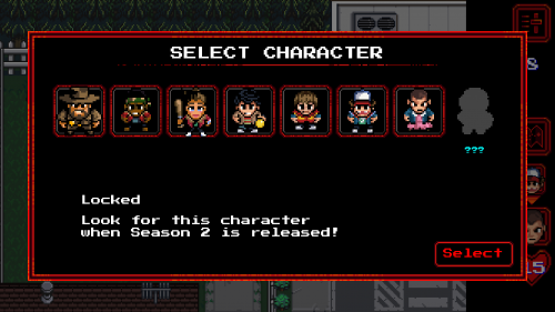 Select character to play
