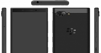 Blackberry athena renders leak online suggest dual camera and qwerty keyboard