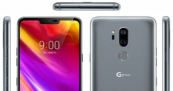 Lg g7 thinq leak shows the android powered smartphone will have a notch design