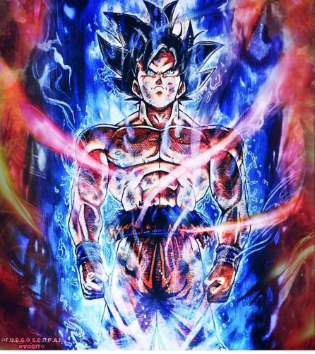 Ultra Instinct Dragon Ball Super Wallpaper: Download Goku Wallpaper For Android