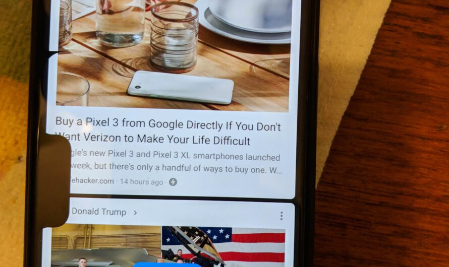Best Bug Ever: A Second Notch Shows Up on the Google Pixel 3 XL