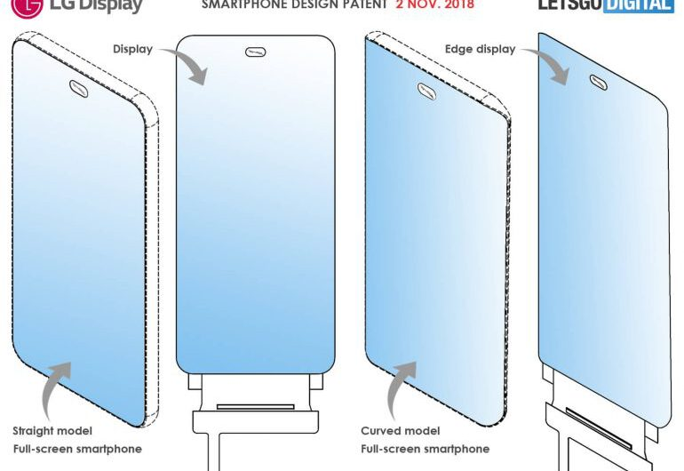 LG Patents Full-Screen Smartphone with Under-Display Camera