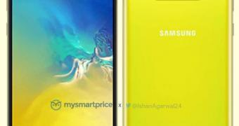 , Leak Reveals Samsung's iPhone XR Rival in Canary Yellow Version