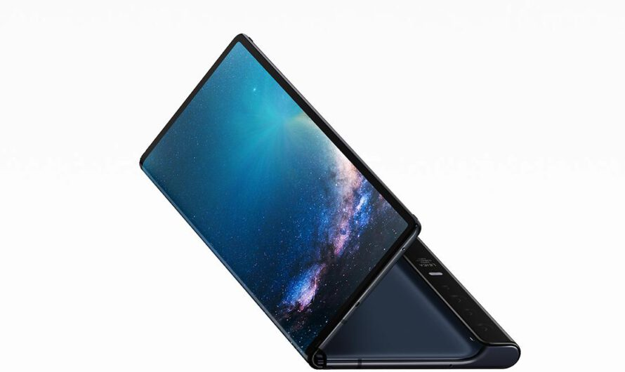 Huawei Launches Mate X Folding Phone at MWC 2019