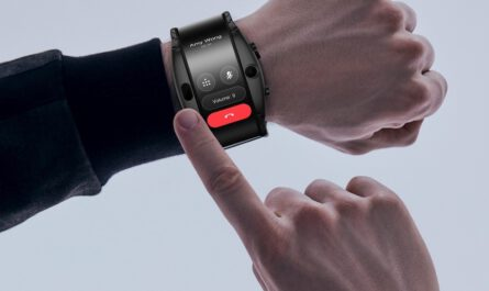 Nubia alpha is both a smartwatch and a smartphone with a flexible screen 525096 2
