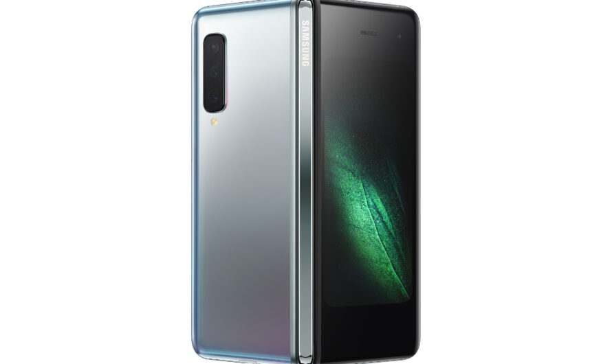 Saumsung Unveils Galaxy Fold with World's First Dynamic AMOLED Foldable Display