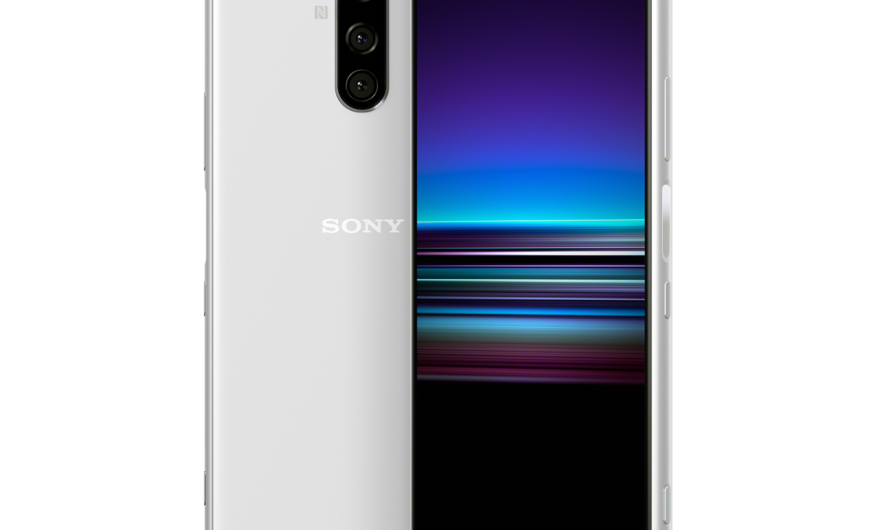 Sony Launches Xperia 1 with 4K OLED Display, Three Cameras on the Back
