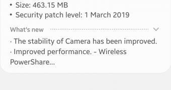 , Samsung Releases Galaxy S10 March 2019 Software Update
