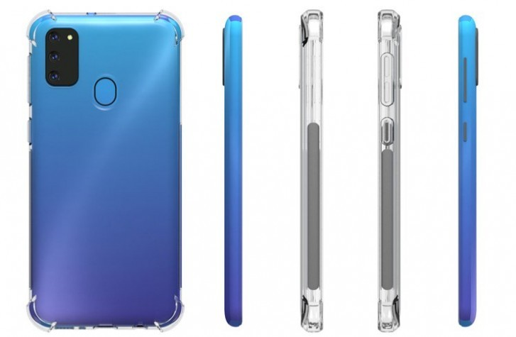 Samsung Galaxy M30s Leakes Show 6,000mAh Battery and Massive Triple Back Cameras