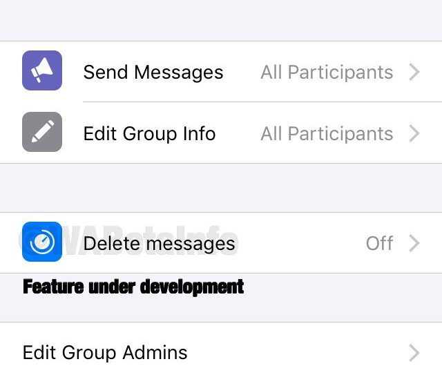 WhatsApp Will Automatically Delete Messages in Group Chats
