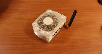 ", This Is Likely the World's First-Ever ""Smart"" Phone with a Rotary Dial"