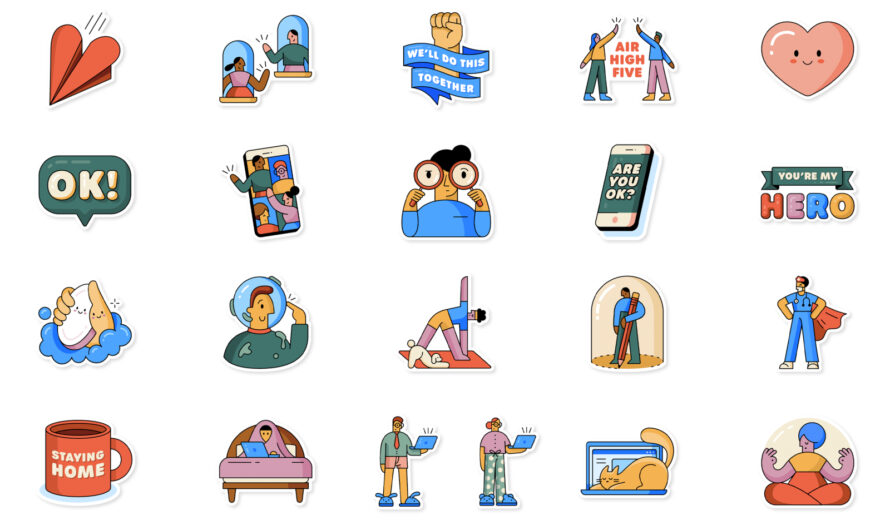 WhatsApp launches new stickers to help promote social distancing