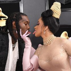 Cardi b with offset