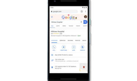 Google adds new features in search and maps to help users connect to healthcare options