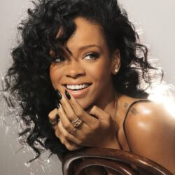 Rihanna smile younger