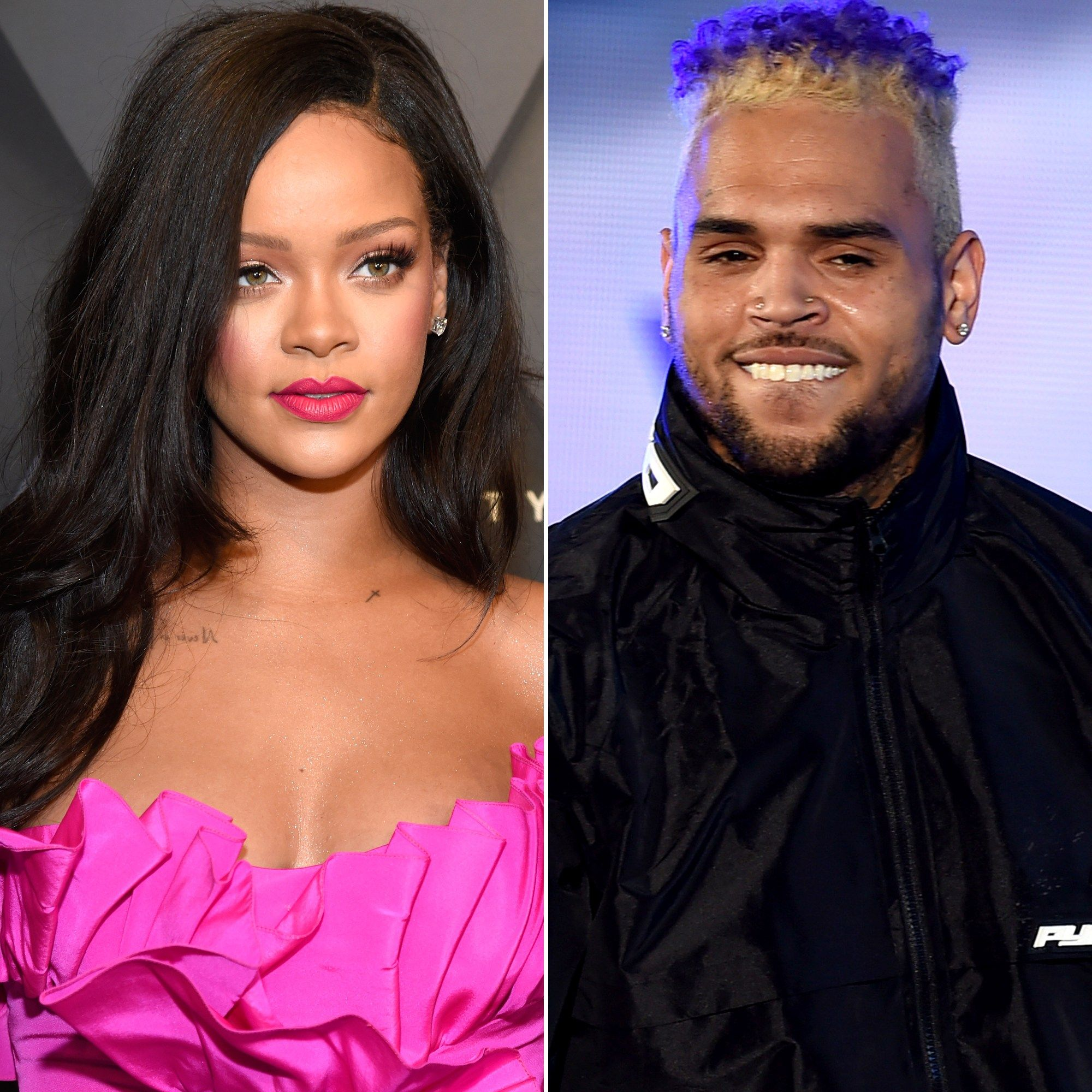 Rihanna with chris brown   Rihanna Pictures   Android Red