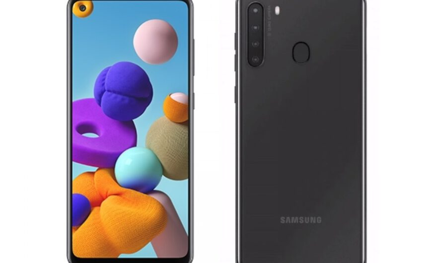 More Samsung Galaxy A21s specifications leak, showing screen size, budget specs, and a big battery