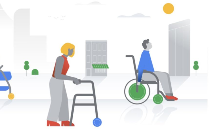 Wheelchair accessible places in Google Maps and new Android accessibility updates