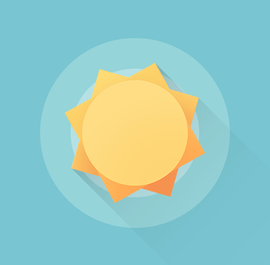 Geometric Weather Widget official logo