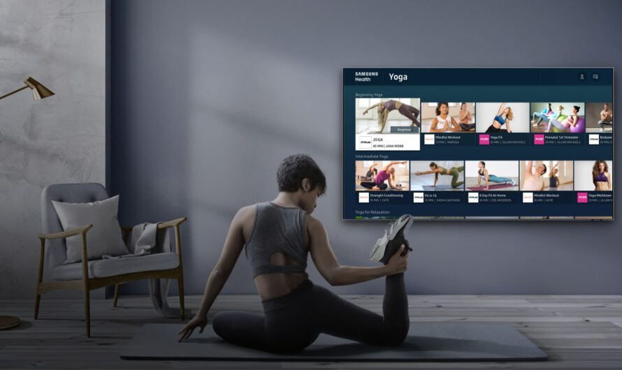 Samsung Brings Samsung Health to Smart TVs, And It All Makes Sense Now