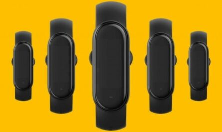 Xiaomi leaks the four different color options for the mi band 5