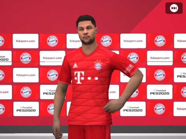 Bayern Munich Player in PES 2020