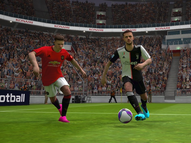 Juventus vs Manchester United in PES 2020