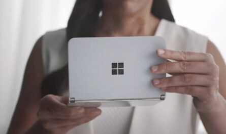 See the surface duo in action sort of on youtube series the shiproom