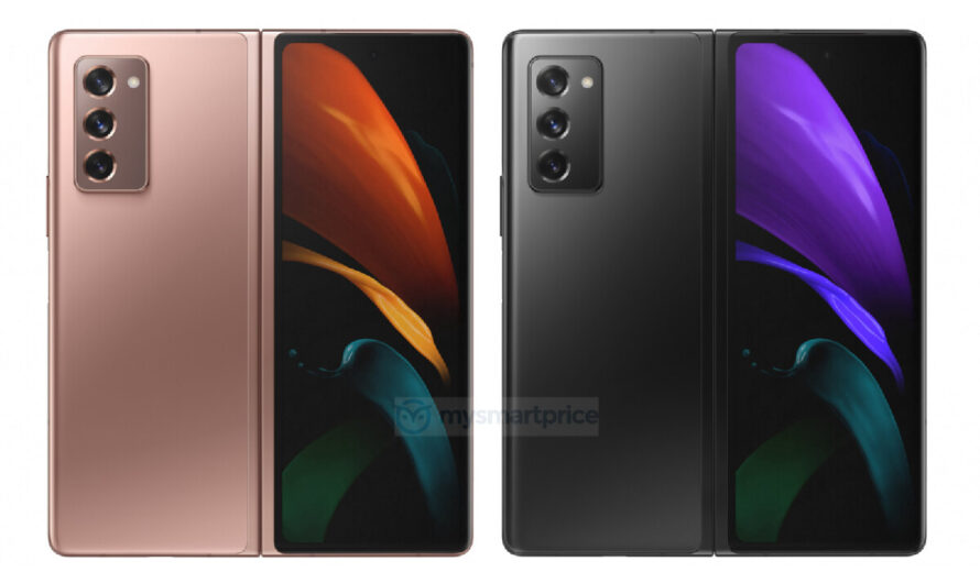 Take a look at the Samsung Galaxy Z Fold 2 5G in all official colors