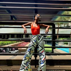 Modeling south african pants
