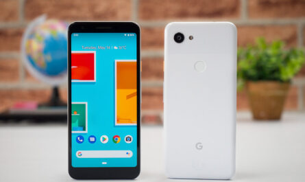 Software update to pixel 3a included a bug that makes the phone look ugly