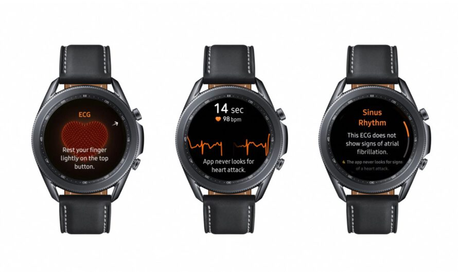 Samsung Launches ECG Feature in More Countries