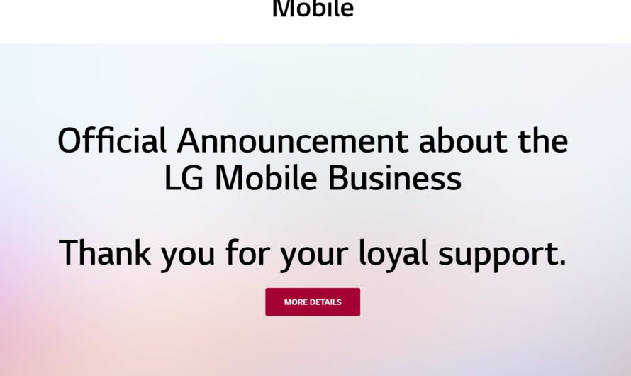 LG Says Android 12 Update Still Planned Despite Mobile Business Shutdown