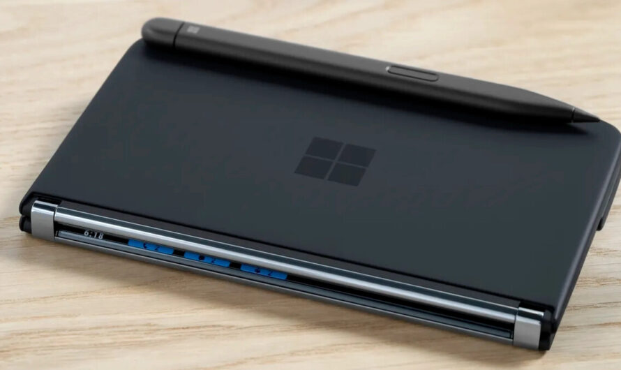 How users of the 5G Surface Duo 2 can dock and charge their Slim Pen 2 right on the device