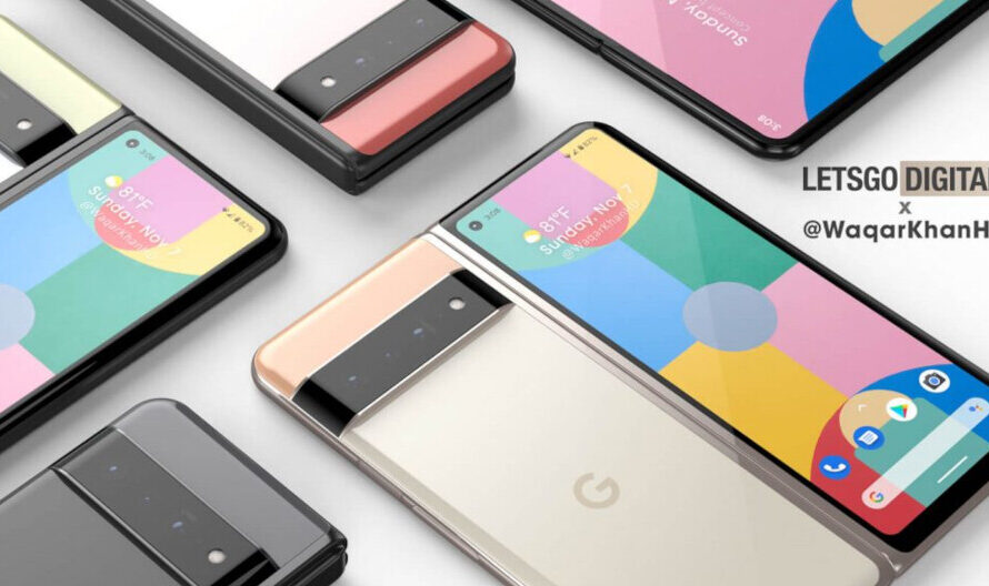 Pixel Fold renders surface (VIDEO); Google gets patent for the foldable's hinge